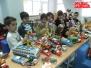 Expoziție de prezentare jucării vechi în cadrul zilelor Școala altfel la Școala Europeană București (aprilie 2013)